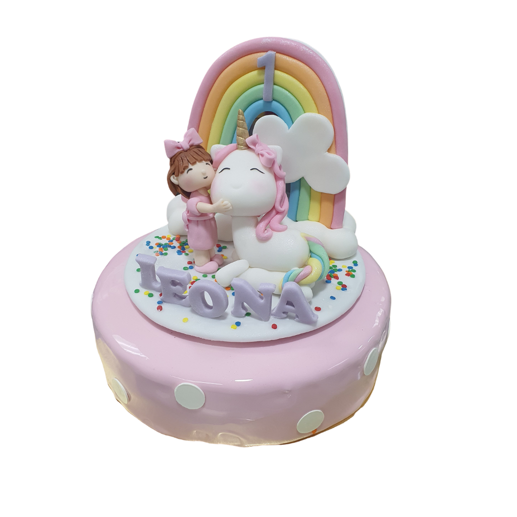 Cake - Girl and Unicorn