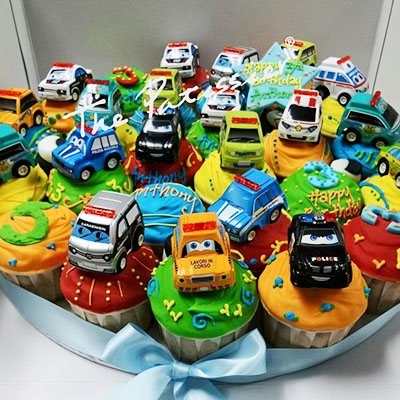 Cupcakes - Toy Cars