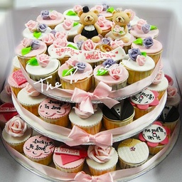 Wedding - Cupcakes - Beary in Love