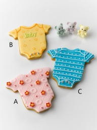 Full Month – Icing Cookies - Baby Jumpsuit